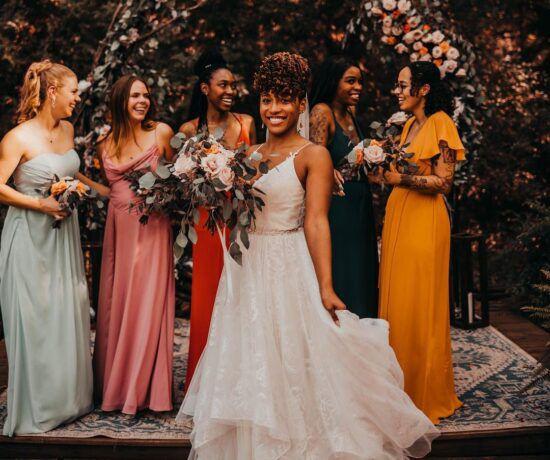 fall bridesmaid colors